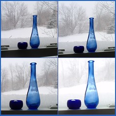progress of the storm (edenseekr) Tags: winter snow glass snowstorm blizzard nystate