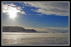 Hengillinn (Sigurberg) Tags: winter sun snow ski nature outdoors iceland skiing sland hellisheii citrit hengillinn
