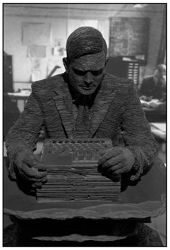 Statue of Alan Mathison Turing