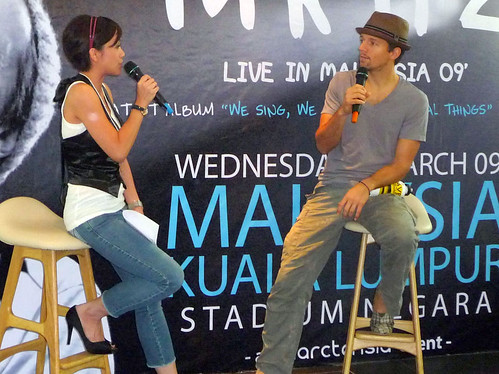 Jason Mraz in KL - press con 05
