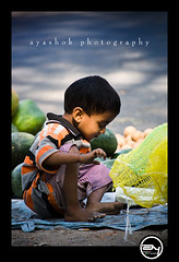 Entrepreneur (ayashok photography) Tags: boy india kid nikon market indian bangalore streetphotography nikonstunninggallery nikond40 ayashok nikor55200mm