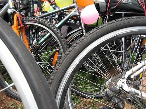 How to recycle bicycle tires