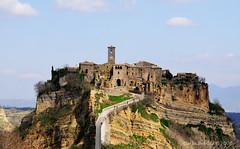 """Civita di Bagnoregio (Carlo """"Granchius"""" Bonini) Tags: italy nikon tp viterbo d300 civitadibagnoregio carlobonini granchius paololivornosfriends tamronaf18270vc"""