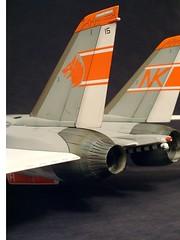 DSCF0008.JPG (chrispricecreative) Tags: airplane fighter f14 aircraft models jet plastic jetfighter 132 tomcat wolfpack grumman fighterplane militaryaircraft plasticmodel revell vf1 f14a 132f14atomat modelbuild platicmodels