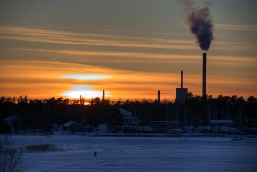 Sunset in Vaasa