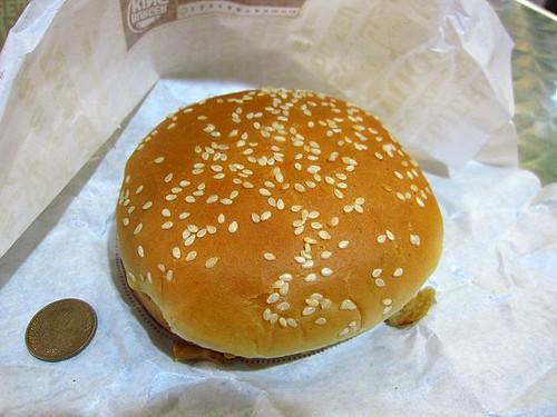 BurgerKing薯泥起司牛肉堡