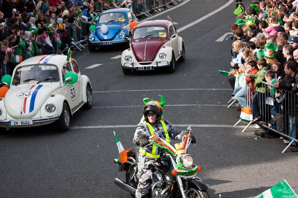 VW Beetle - St. Patrick's Day Parade 2009