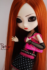 Poison - Pullip Rida (-Poison Girl-) Tags: pink white black ginger eyes doll acrylic redhead carrot pullip poison custom pullips poisongirl rida obitsu junplanning pulliprida rewigged acryliceyes pullipcustom sbhm pullipridacustom ridacustom