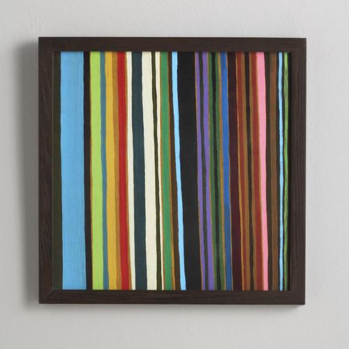 West Elm MultiColored Stripe