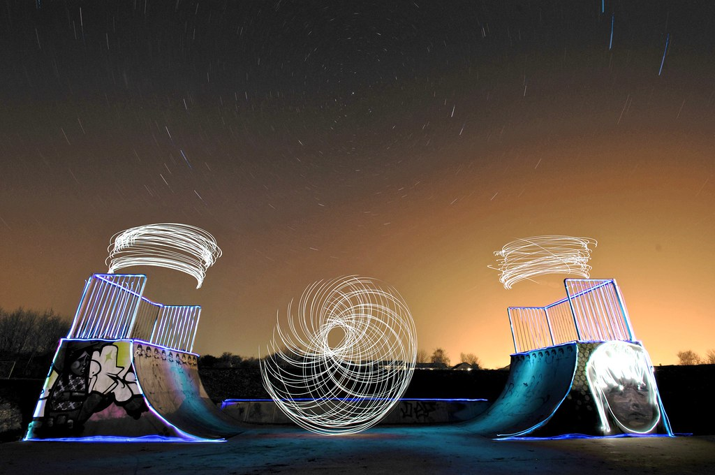 3369149900 aabbdcfe1b b Skatepark Light Graffiti Art