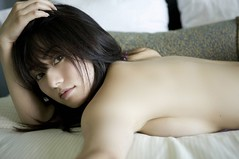 Hot or Cold (yangkuo) Tags: bareback japanese eyes skin tani momoko gravure