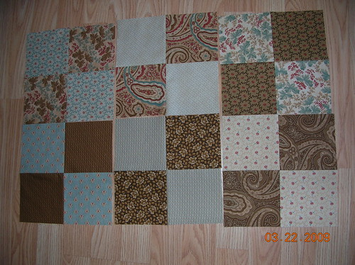 Oh, Fransson's quilt-along Block B