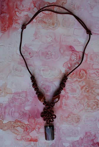 Pan Chang Knot Necklace
