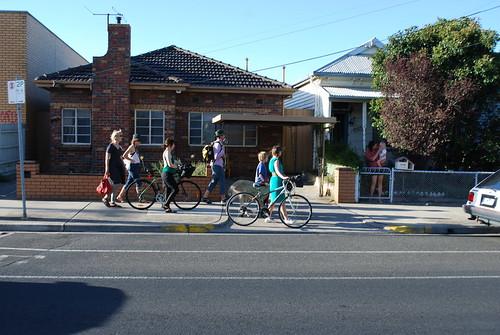 bikes on albert street