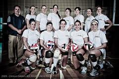 Volleyball Team Portrait