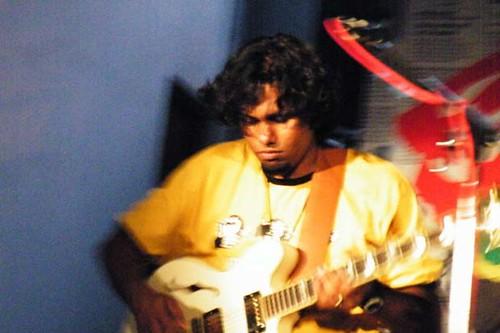 Bruce at Shut Up and Vote, Kolkata