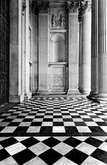 Chess? (Philipp Klinger Photography) Tags: door uk england white black london church st paul nikon europe pattern cathedral britain united great pillar entrance chess kingdom gb portal philipp soe klinger aplusphoto d700 goldstaraward dcdead