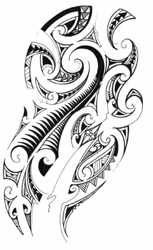Maori Specific tattoos (Set)