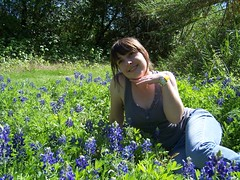 Can't pass up a bluebonnet photo op