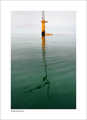A Flat Calm (Ian Bramham) Tags: england colour reflection industry water station boat photo nikon energy power wind farm offshore photograph electricity northern turbine barrow windfarm renewableenergy centrica barrowinfurness d40 dongenergy ianbramham bowind barrowoffshorewindltd