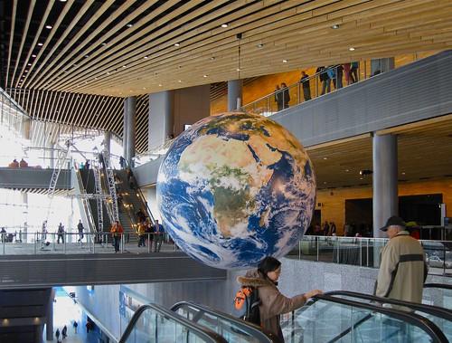 Interior with Globe