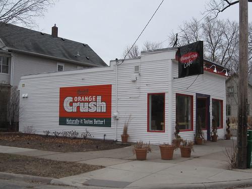 Cliquot Club Cafe - Orange Crush