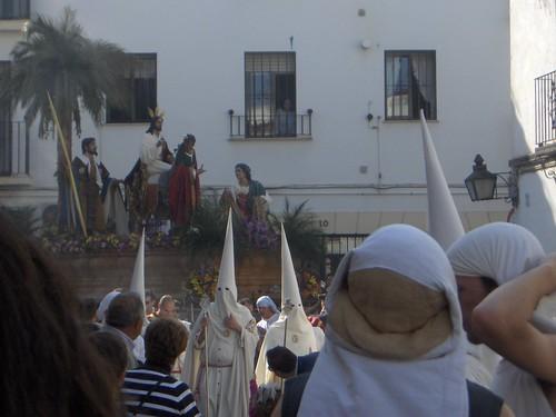 Borriquita llegando a Jesús Nazareno