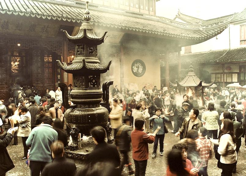 Jade Temple, Shanghai, China