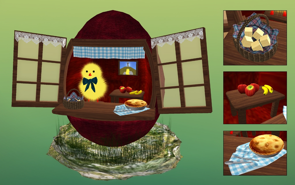 Easter Egg Chicken House
