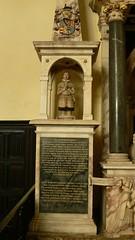 Alabaster memorial - Stanford-on-Avon