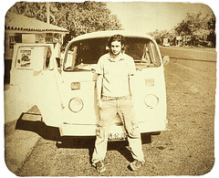 OLD TIMES (Stromboly) Tags: road vw vintage combi