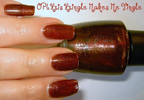 OPI Kris Kringle Makes Me Tingle