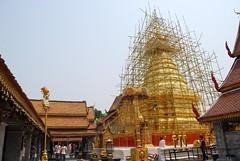 Chedi restoration - Wat Doi Suthep