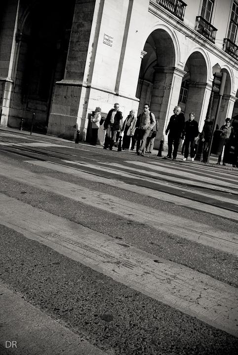 Por Lisboa... no Terreiro do Paço