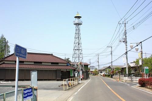 古谷本郷下の火の見櫓