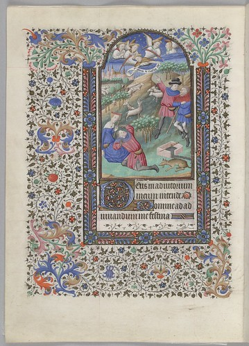 Annunciation to the shepherds (HM 1100)