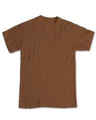 New Blank Front - Brown (ir0cko) Tags: brown front blank threadless onwhite tee