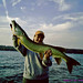 Becky Smith with nice muskie