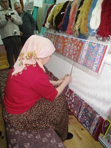 Turkey Trip Day 8 Rug Making & Selling