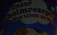 Unser Geheimrezept Ben & Jerry's Werbung Eis Von allem zu viel