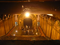 Tower Theater, Los Angeles (jericl cat) Tags: monument yellow architecture losangeles theater downtown view district broadway historic architect stunning hcm ornate 450 auditorium petite 1927 baclony scharleslee