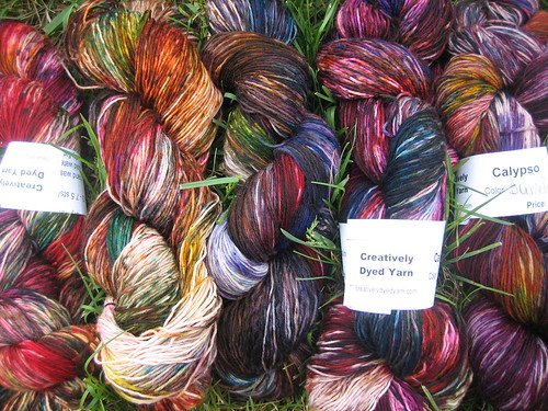 Creatively Dyed Yarns