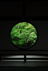 Kyoto026 (Kosei.S) Tags: window japan temple kyoto zen d200 wabi sabi enlightenment genkan