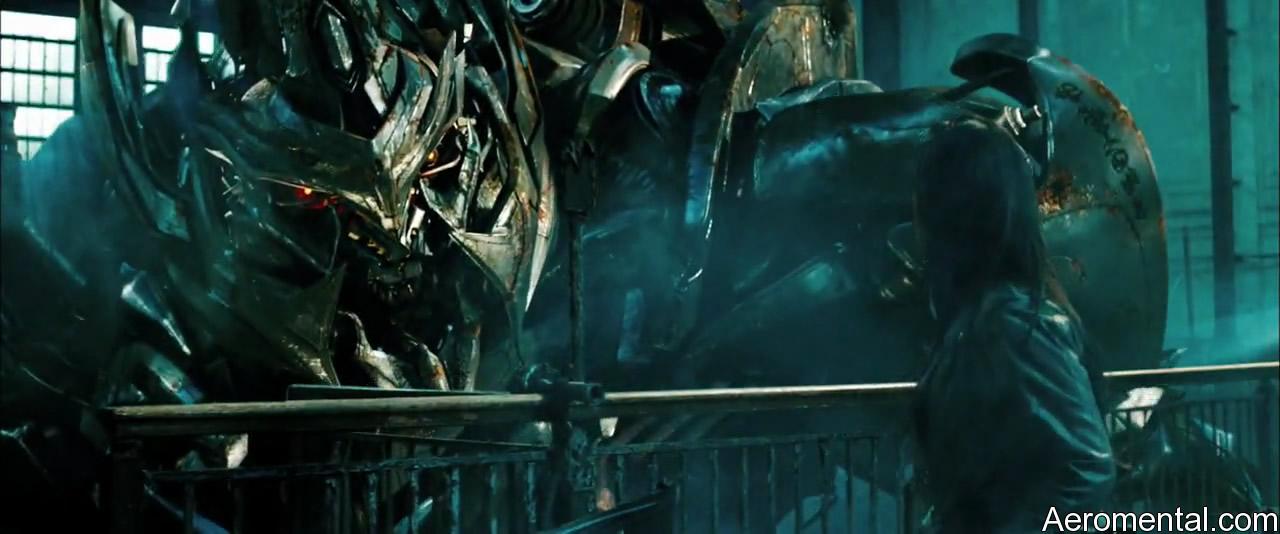 Transformers 2 Megatron Mikaela