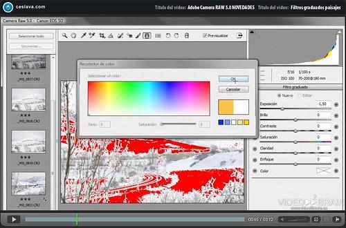 Curso gratuito Adobe Camera RAW 5.0
