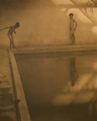 Weston-Edward (Foxtongue) Tags: pool swimming vintage westonedward