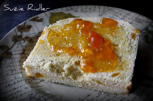 Apricot Bread with Apricot Jam