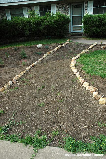 the shovel ready garden shovel ready project laying a flagstone path
