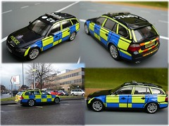 1:43 Code 3 BMW Essex Police 3 Series Traffic Car (alan215067code3models) Tags: 3 police bmw series essex