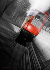 Twisted Phone (mortenprom) Tags: light red sky black color oslo norway metal norge aluminum phone skandinavien norwegen wideangle explore noruega scandinavia 2009 noorwegen noreg sigma1020mm skandinavia canoneos40d mortenprom twphch twitterphotochallenge twphch001